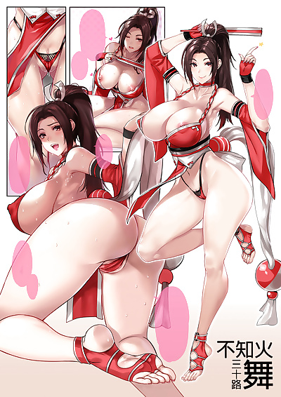 manga King of Fighters Collection, alice garnet nakata , angel , big breasts , anal