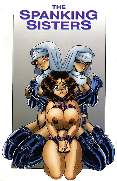 english manga The Spanking Sisters, big breasts , full color