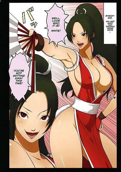 english manga Saimin Mind, andy bogard , mai shiranui , full color , manga  mind-control