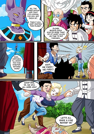 manga Android 18 - The Goddess Wife, android 18 , bulma briefs , full color , nakadashi  color