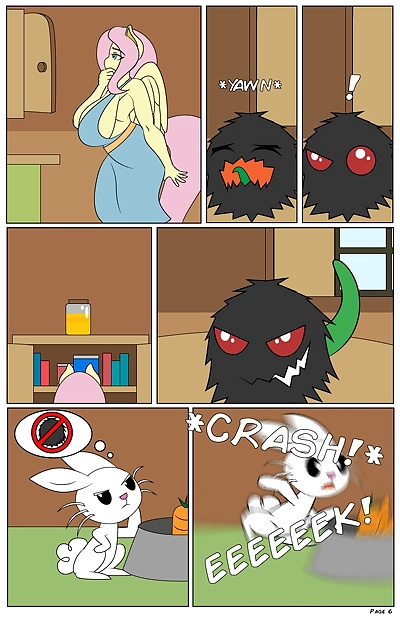 manga The Hot Room 6 - It Came From The.., lactation , furry