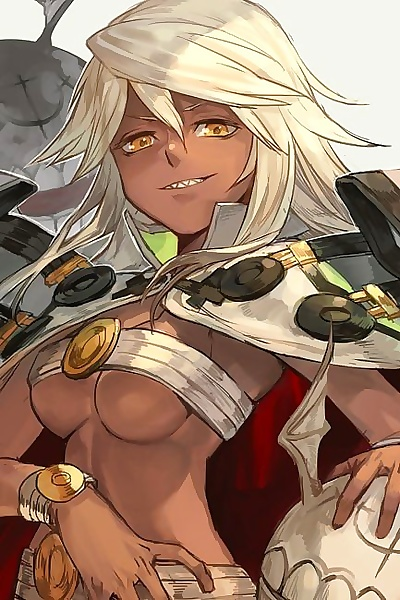 manga Guilty Gear Collection - part 14, baiken , dizzy , big breasts , blowjob  small-breasts