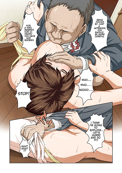 english manga Karamitsuku Shisen, big breasts , milf