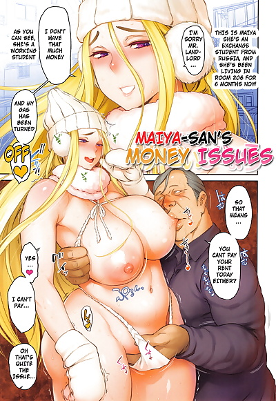 english manga Maiya-san no Keizai Jijou - Maiya-sans.., big breasts , full color  big-breasts
