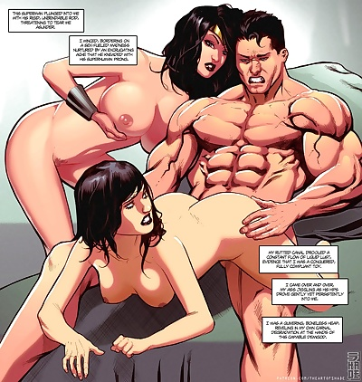 manga Supertryst, superheroes , threesome  most popular