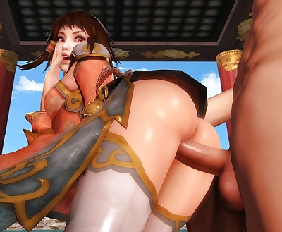 manga SoulCalibur Collection - part 4, ivy valentine , sophitia alexandra , big breasts , blowjob